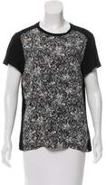 Proenza Schouler Abstract Print Crew Neck T-Shirt