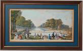 OKA The Fontainebleau Canal Framed Print