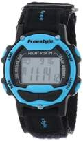 Freestyle Unisex 102282 Predator Blue Detail Digital Canvas Velcro Watch