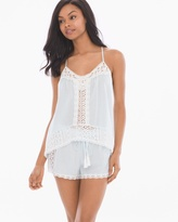 Soma Intimates Little Wing Cotton Cami Shorts Pajama Set