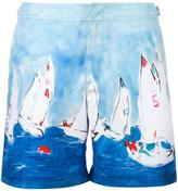 Orlebar Brown sailboat print swim shorts