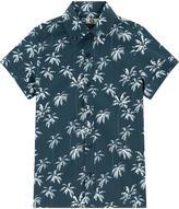 MSGM Printed poplin shirt