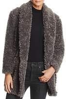 Soft Joie Kavasia Textured Faux Fur Jacket
