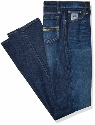 Cinch Men's Tall Size Silver Label Slim Fit Jeans