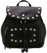 Jimmy Choo Suki backpack - women - Lamb Skin/Brass/Calf Leather - One Size