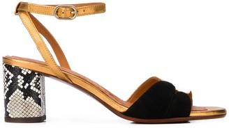 Chie Mihara Lucano mid-heel sandals