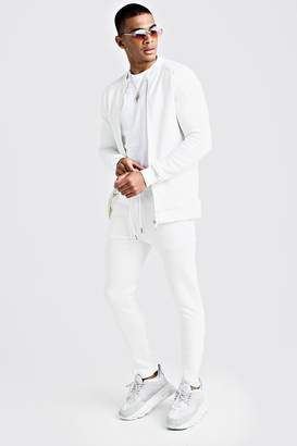 Quilted Smart Bomber Tracksuit