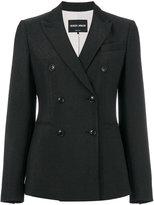 Giorgio Armani double-breasted blazer