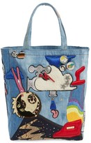 Marc Jacobs Denim Tote - Blue