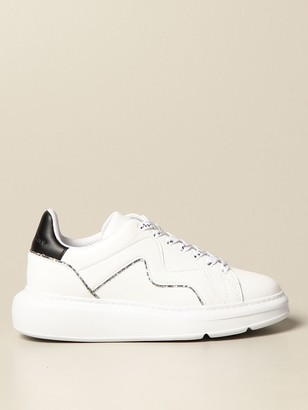 Manila Grace Sneakers In Leather