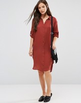 B.young 3/4 Sleeve Shirt Dress