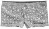 Maidenform Snowflakes-Print Minishort Underwear, Little Girls (4-6X) and Big Girls (7-16)