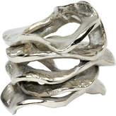 Kim Seybert Gold Flux Napkin Ring