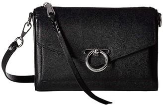 Rebecca Minkoff Jean Mac (Black) Cross Body Handbags