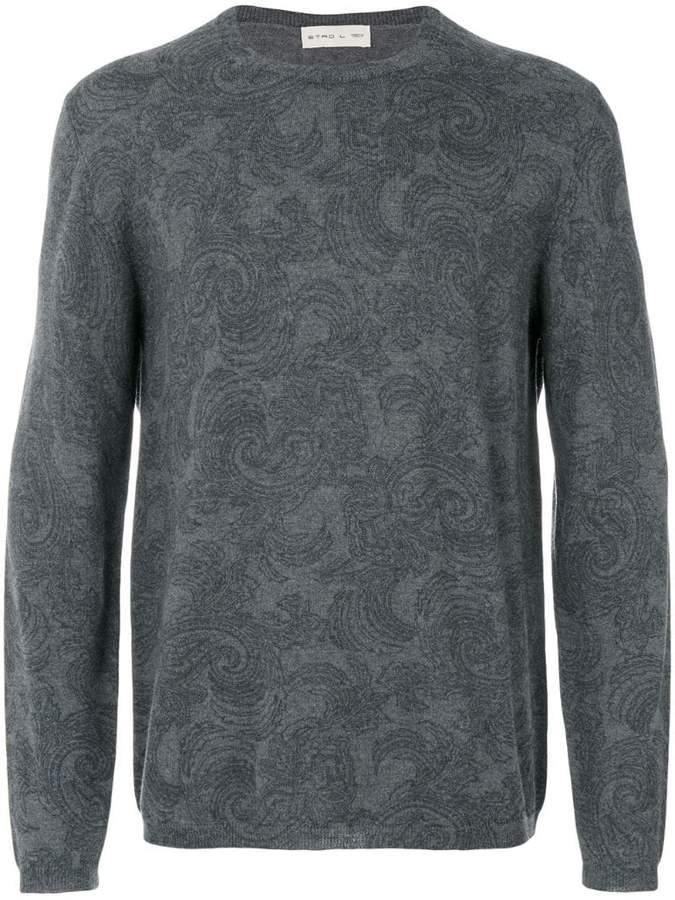 Etro stylized printed sweatshirt