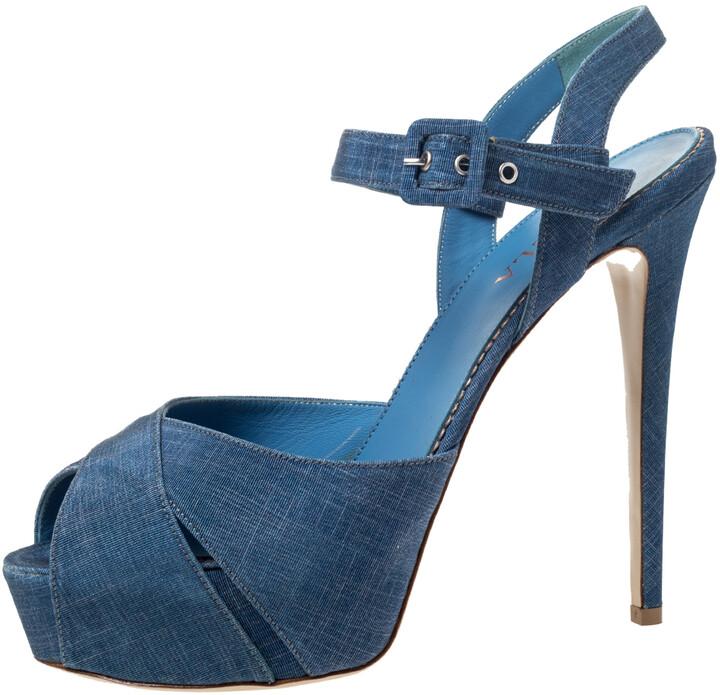 Light Blue Platform Heels | Shop the