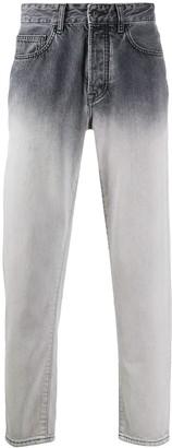 Marcelo Burlon County of Milan Straight-Leg Ombre Jeans