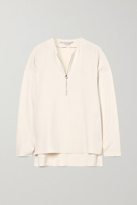 Stella McCartney Net Sustain Arlesa Crepe Top - Cream