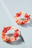 Anthropologie Fiori Wreath Earrings