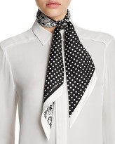 Marc Jacobs Wavy Lady Dot Bandeau Scarf