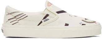 Vans Off-White MoMA Edition OG Classic Slip-On Sneakers