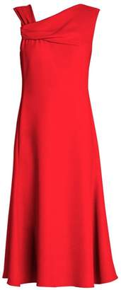 Giorgio Armani Asymmetric Fit-And-Flare Dress