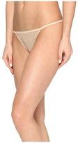 Calvin Klein Underwear Sheer Marquisette String Thong