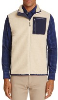 Vineyard Vines Sherpa Fleece Zip Vest