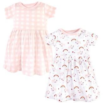 Luvable Friends Toddler Girl Dress, 2-Pack