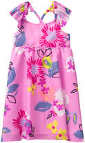 Crazy 8 Pink Daisy Signature Floral A-Line Dress - Infant, Toddler & Girls