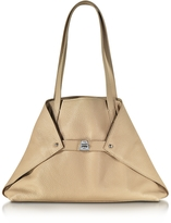 Akris Ai Small Cordage Leather Tote Bag