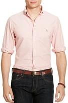Polo Ralph Lauren Gingham Cotton Oxford Classic Fit Button Down Shirt