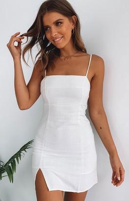 Beginning Boutique Jordana Dress White