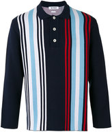 Sunnei striped polo shirt - men - Cotton - S