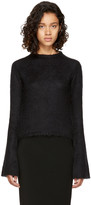 Rick Owens Black Mohair Sweater