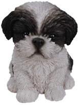 Hi-Line Gift Ltd. Sitting Shih Tzu Puppy Statue