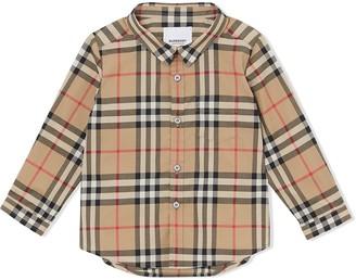 BURBERRY KIDS Vintage Check shirt
