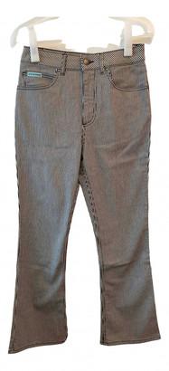 ALEXACHUNG Alexa Chung White Denim - Jeans Jeans