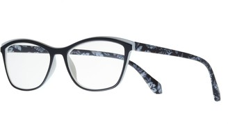 Foster Grant Women's Modera by Meryl Floral Cat-Eye Reading Glasses