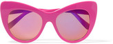 Stella McCartney Cat-eye Acetate Sunglasses - Pink