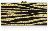Milly Zebra Box Clutch