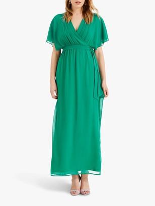 Phase Eight Hyria Chiffon Maxi Dress, Shamrock