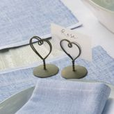 The White Company Heart Placecard Holders
