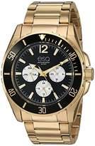 ESQ Men's IP Stainless Steel Multifunction Watch FE/0243