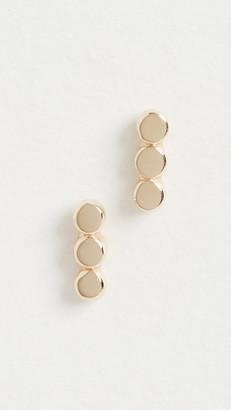 Jennie Kwon Designs 14k 3 Dot Studs