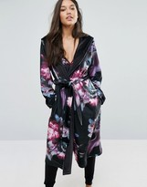 Ted Baker Ethereal Posey Long Printed Robe