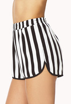 Forever 21 Everyday Striped Dolphin Shorts
