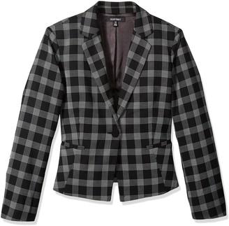 Ellen Tracy Women's Single Button Jacket