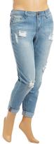 Dollhouse Ipanema Distress Boyfriend Jeans - Plus