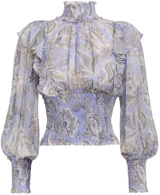 Zimmermann Lucky Shirred Bodice